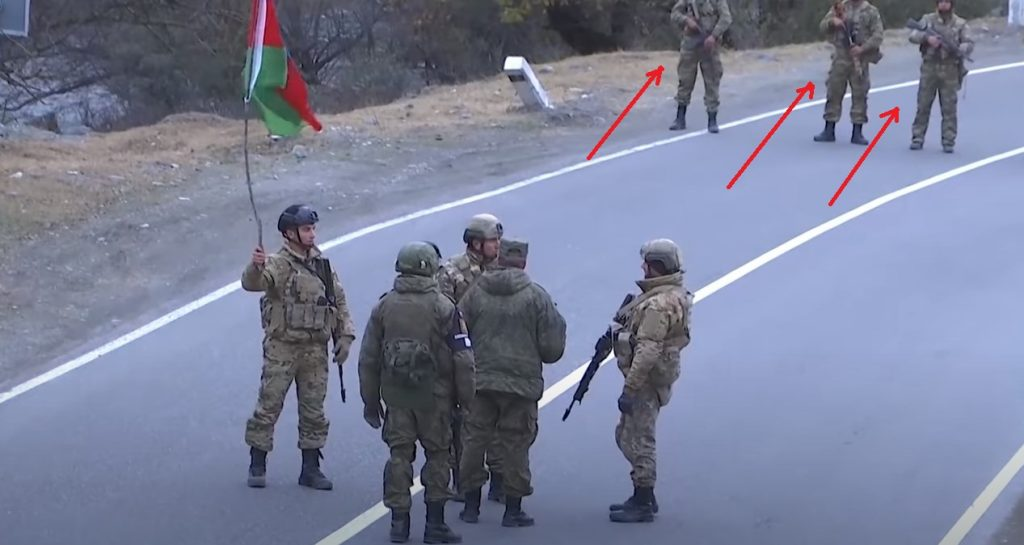 Upset Azerbaijani Troops Try To Provoke Russian Peacekeepers In Dadivank
