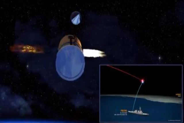 Raytheon's SM-3 Intercepts Ballistic Missile Target Outside Of Earth's Atmosphere For First Time Ever