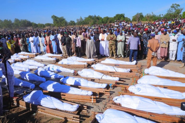"""""""2020's Most Violent Massacre"""" In Nigeria Leaves At Least 110 Dead"""