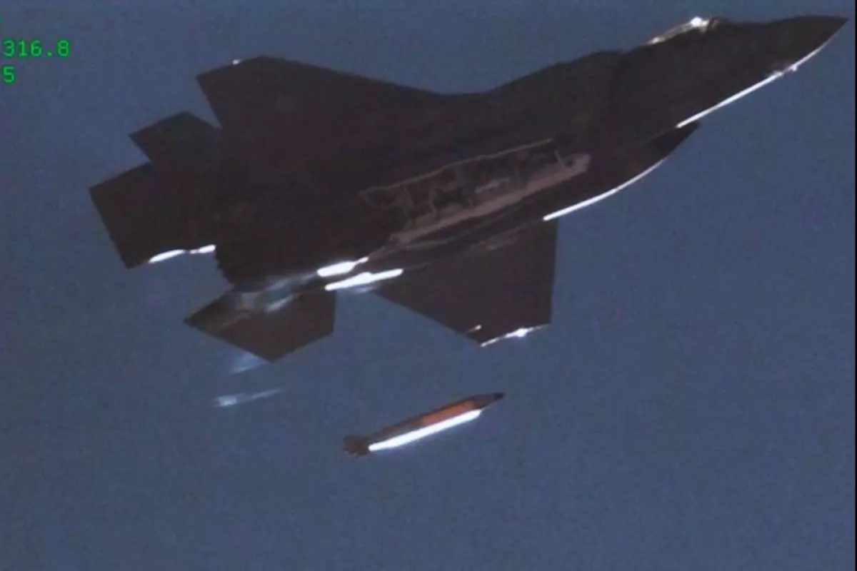 U.S. Successfully Drops Mock B61-12 Nuclear Gravity Bomb From F-35A Lightning II Fighter Jet