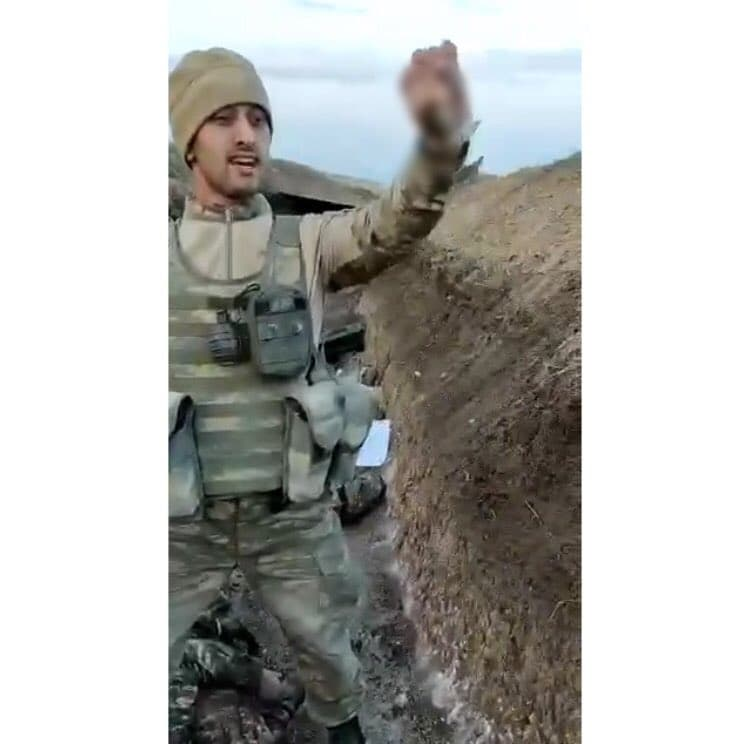 Azerbaijani Troops Caught On Tape Committing Another War Crime In Karabakh (18+ Video)