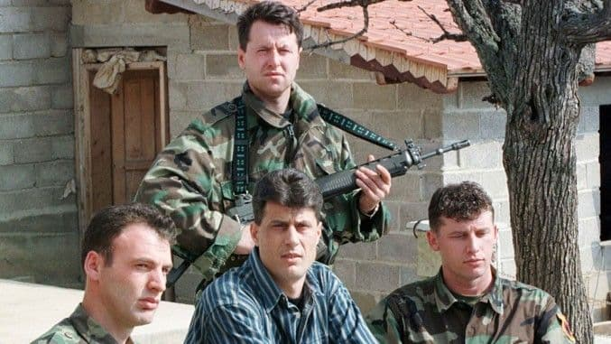 Former Kosovo President Hashim Thaci Taken Into Custody In The Hague