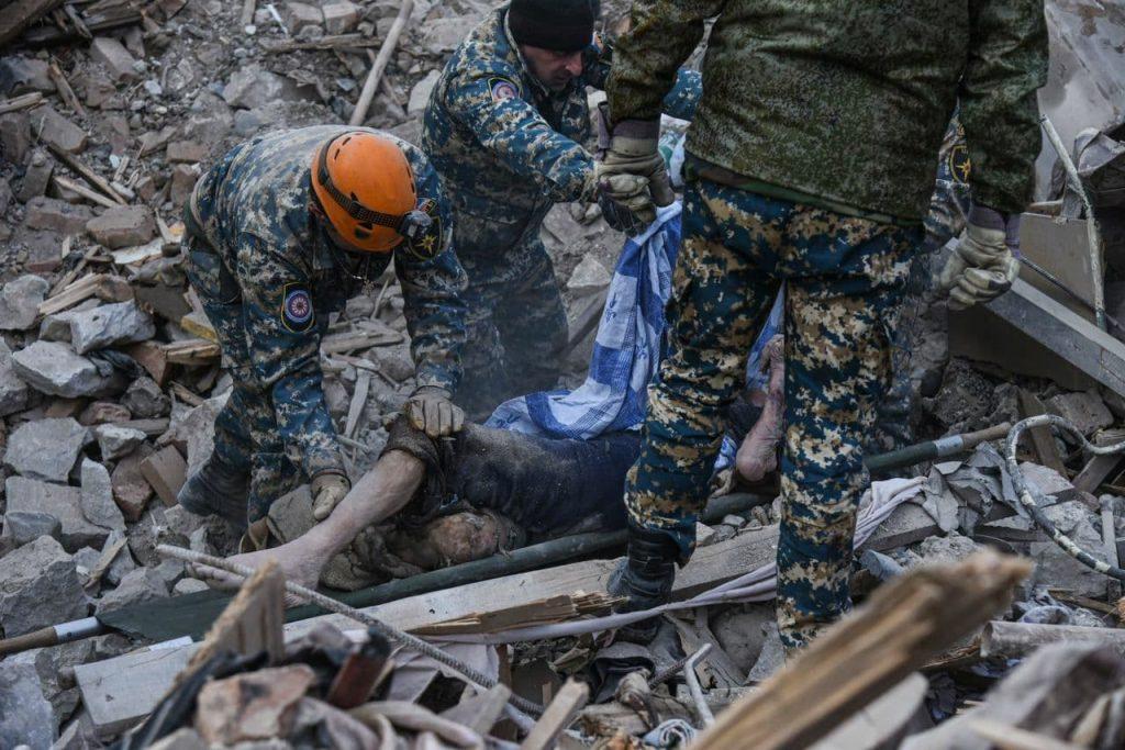 Three Civilians Killed In Overnight Azerbaijani Shelling Of Stepanakert (Video, Photos)