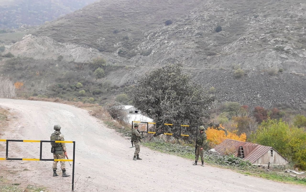 Maps Detailing Russia's Observation Posts And Peacekeeping Patrols In Nagorno-Karabakh Released