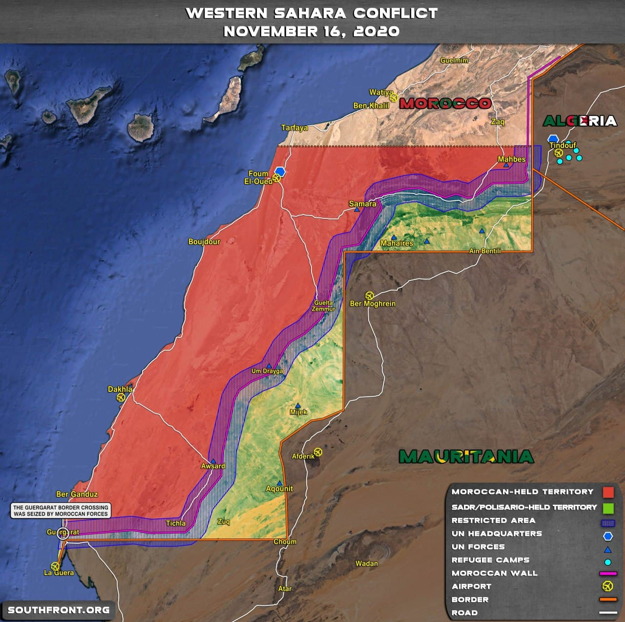 Clashes In Western Sahara Continue, As Polisario Front Says There's No Hope For Peace