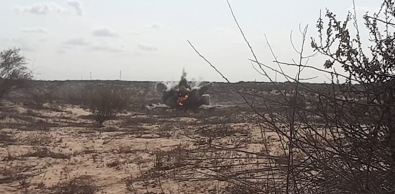 ISIS Threat Grows In North Sinai: Egyptian Military Vehicles Targeted With IED (Photos)