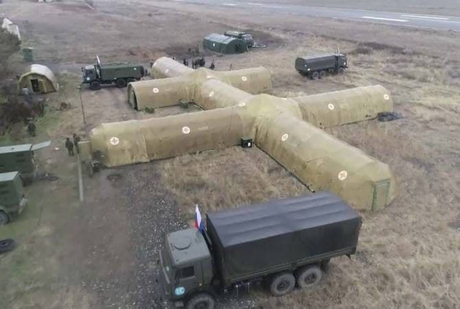 Nikol 'The Basement' Pashinyan Makes Another Facebook Rant, Russian Peacekeepers Set Up Field Hospital In Stepanakert