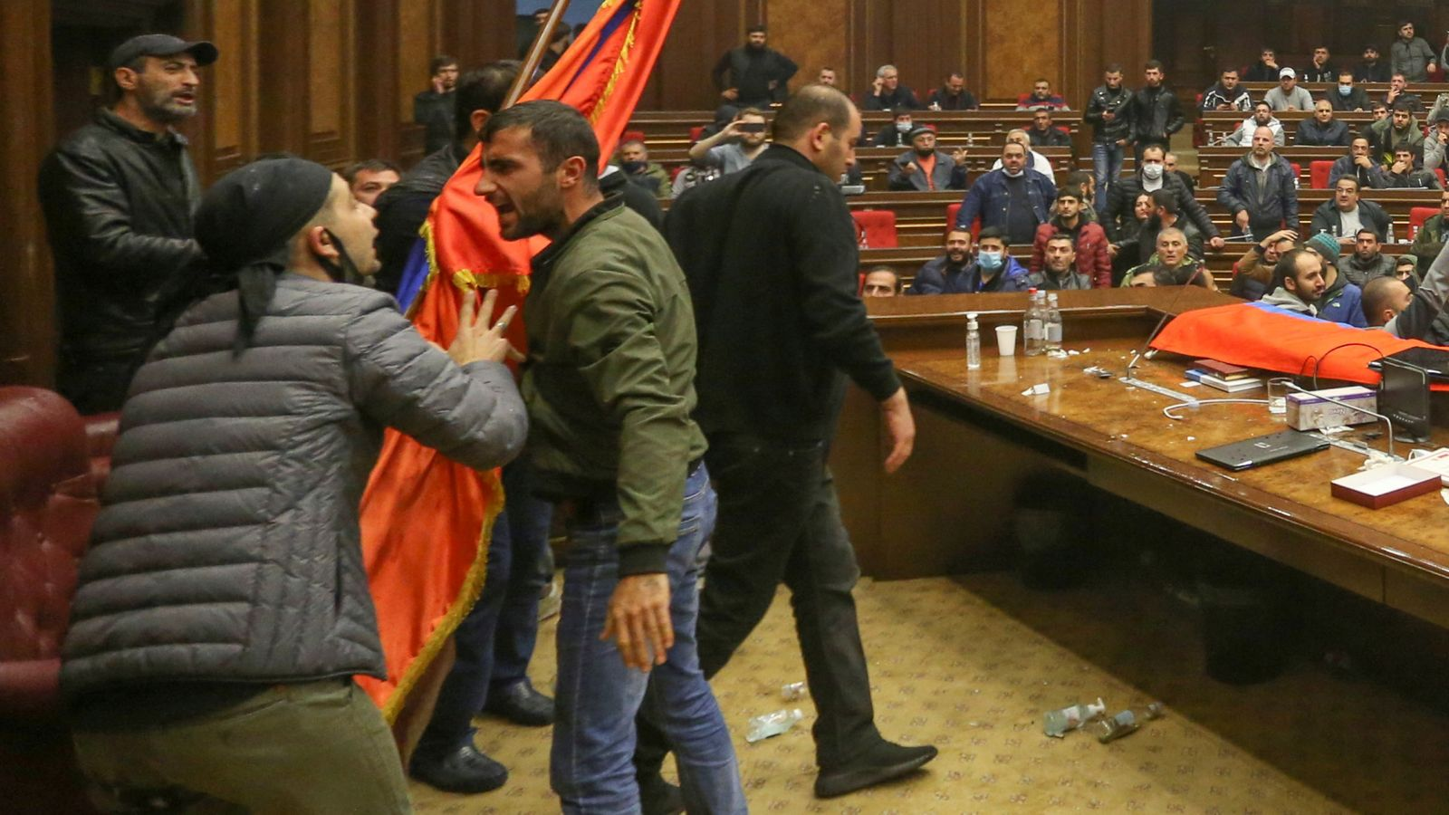 Chaos In Armenia Ramping Up As Pashinyan Refuses To Give Up Power, Leads Country Through Facebook