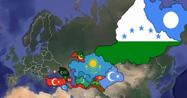 "Turkish Media Releases Incredibly Ambitious ""Five States, One Nation"" Map"