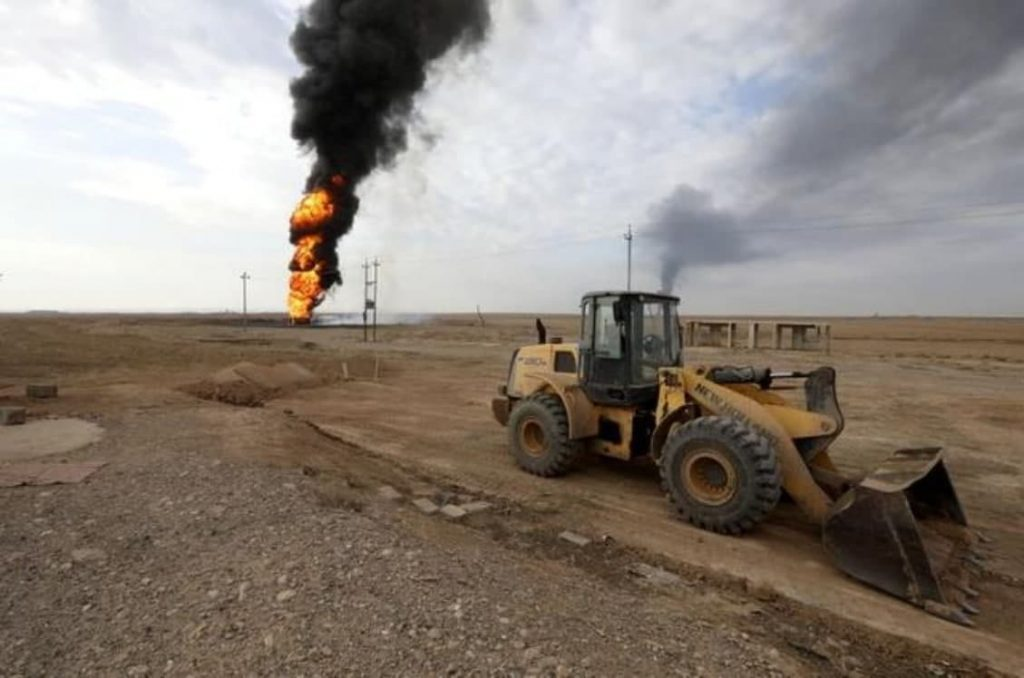 ISIS Claimed Responsibility For Bombing Oil Wells In Kirkuk (Video, Photos)