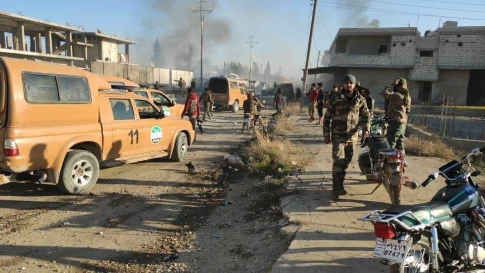 Several Turkish Troops Were Killed & Injured In Car Bomb Blast In Ras Al-Ayn (Video, Photos)