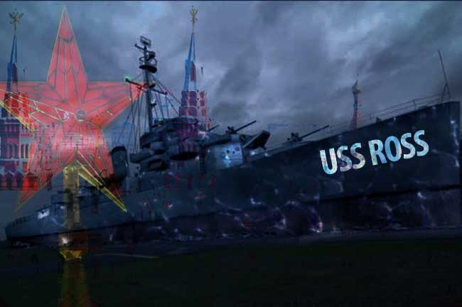 The Curious Case Of USS Ross: U.S. Warship Appears In Russian Territorial Waters, And Then Vanishes