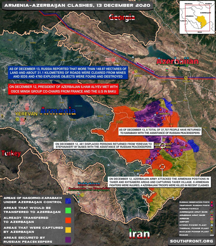 Azerbaijan Announced 'Counter-Terrorism Operation' In South Of Nagorno-Karabkah