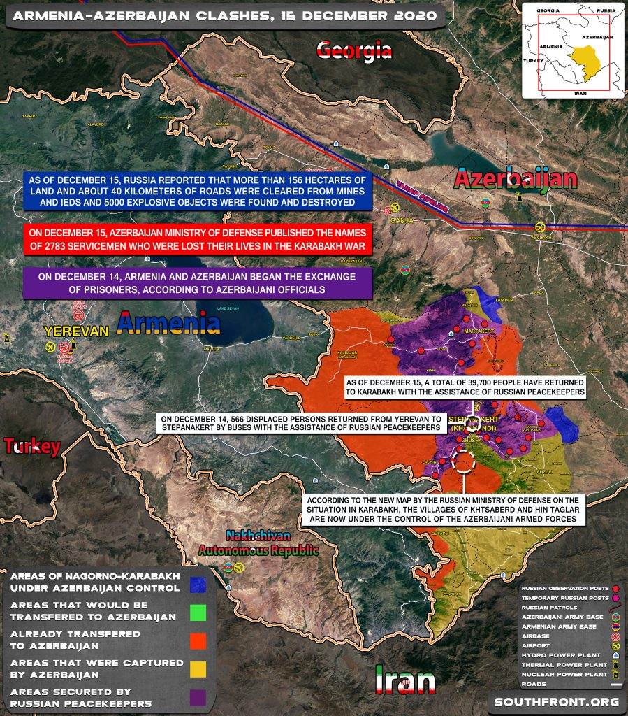 Azerbaijani Fores Took Control Of Contested Villages In Hadrut District (Map Update)