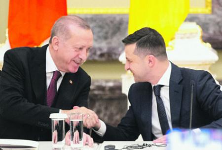 "Europe's Newest ""Romance"": Kiev And Ankara Against Peace In Eastern Ukraine"