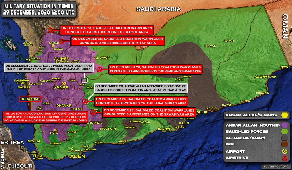 Saudi-led Coalition Bombed Crash Site Of Its Combat Drone Shot Down By Houthis (Video, Map)