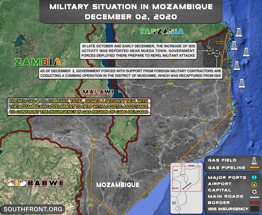 ISIS Slows Down Expansion In Mozambique Amid Fierce Clashes With Government Troops (Map Update)