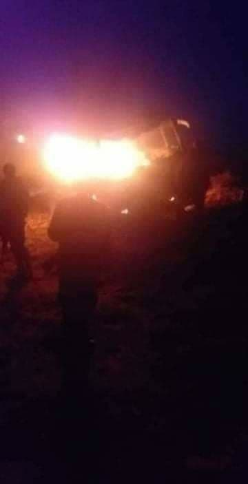 ISIS Terrorists Ambushed Buses With Army Troops, Civilians On Homs-Deir Ezzor Highway (Video, Photos)