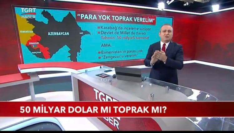 Turkish TV Shows Large Part Of Armenian Territory As Azerbaijan