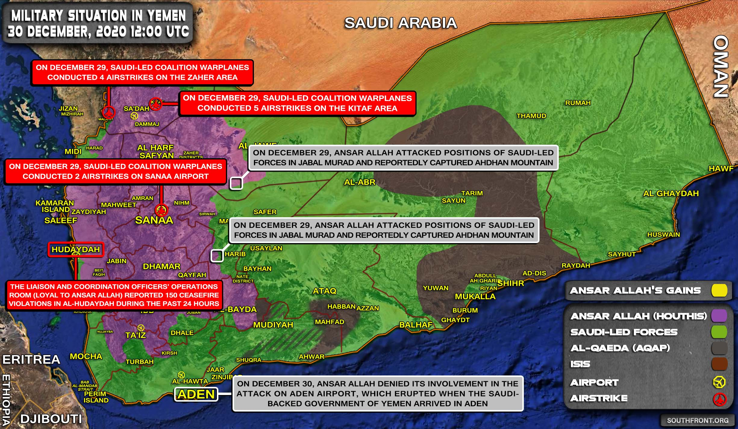 Explosions Follow Saudi-Backed Yemeni Government To Aden's Presidential Palace
