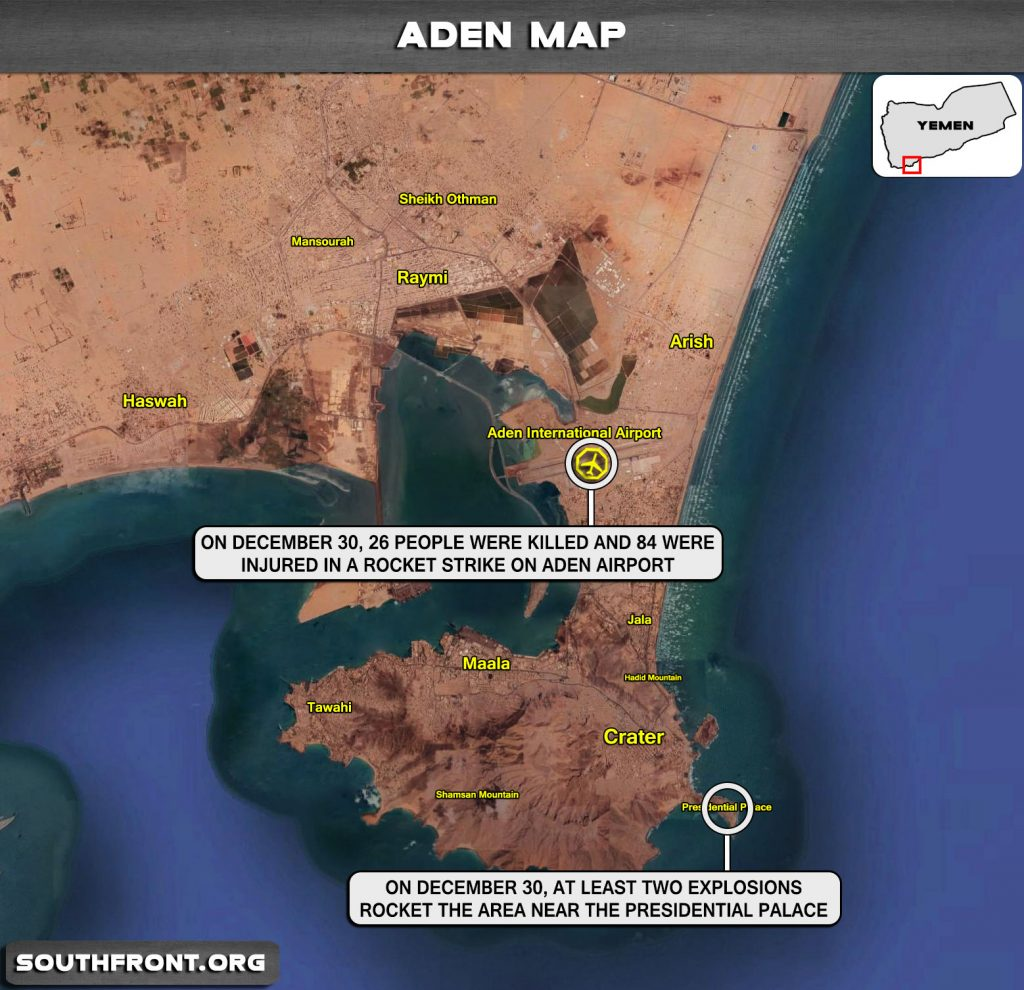 All Eyes On Aden, As Saudi Arabia Shows Inability To Protect Its Yemeni Puppet Government