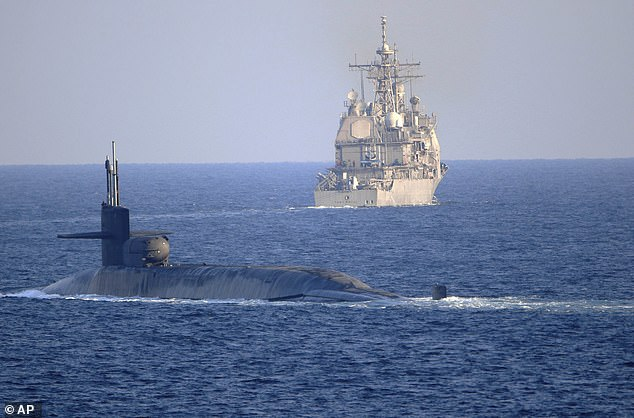 U.S. Sends Nuclear Submarine And Guided-Missile Destroyers To Persian Gulf