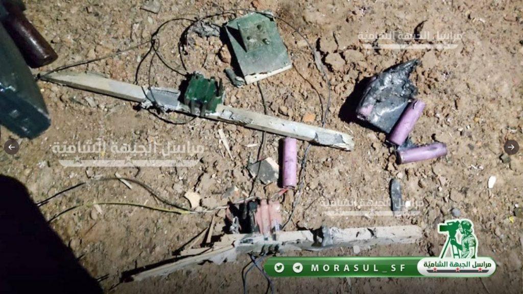 Unidentified UAV Struck Oil Tanks North Of Manbij (Photos)