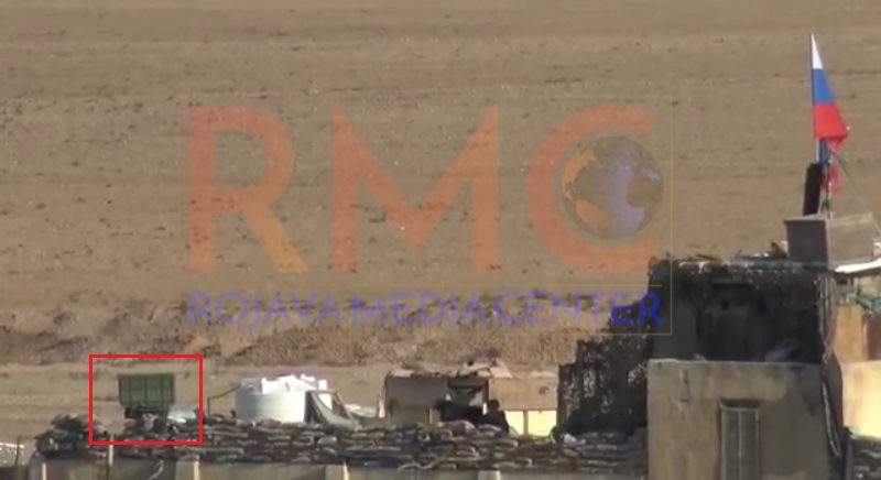 Russian Counter-Battery Radar Spotted In Northeastern Syria