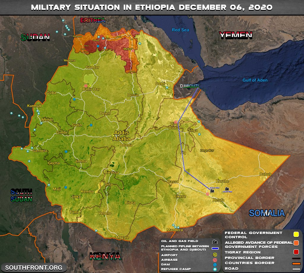 Internal Ethiopian War Draws To A Close, But Has It Damaged Neighboring Sudan Too Much