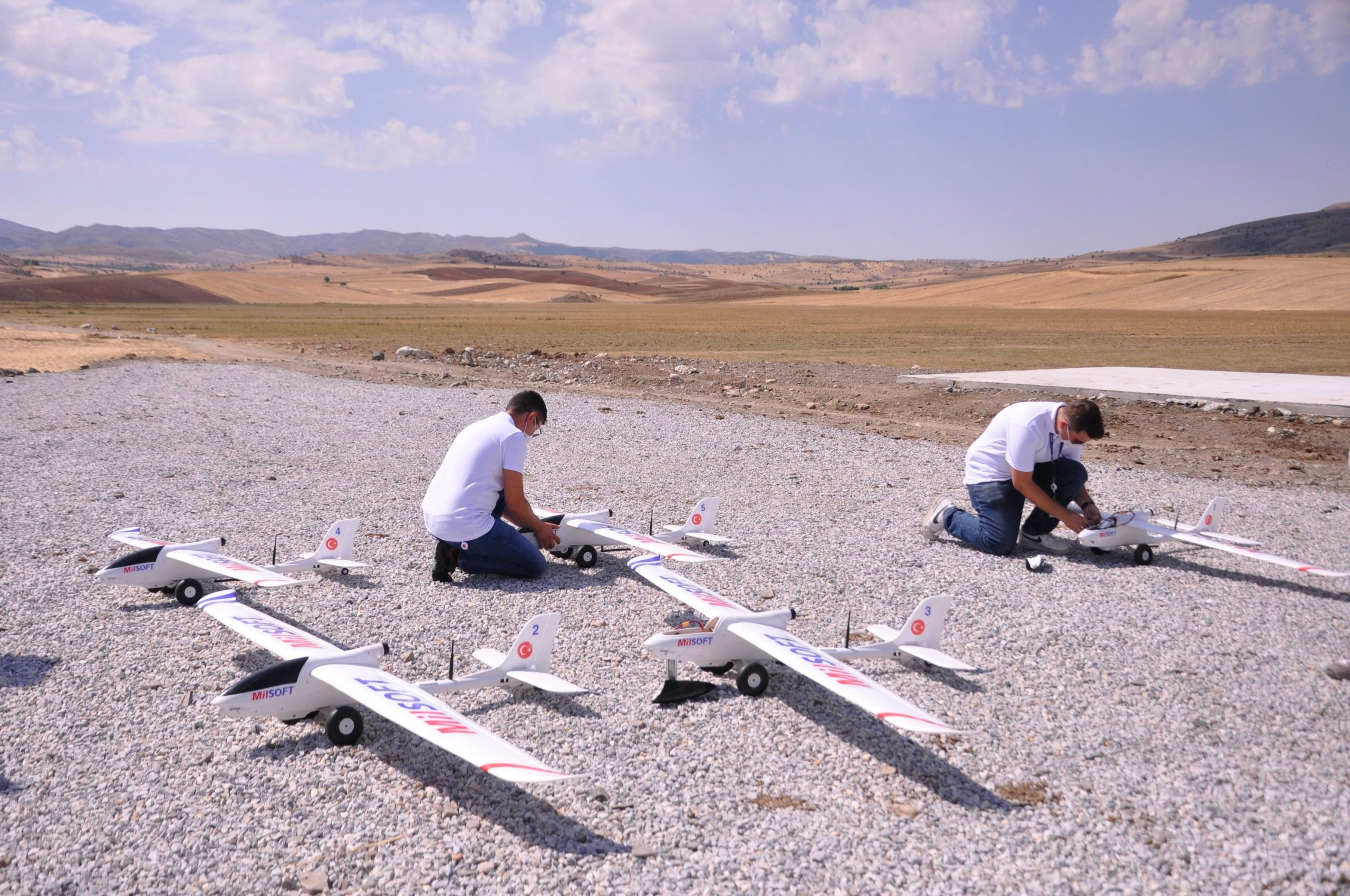 AI-Controlled Software For Drone Swarms Developed By Turkish Company