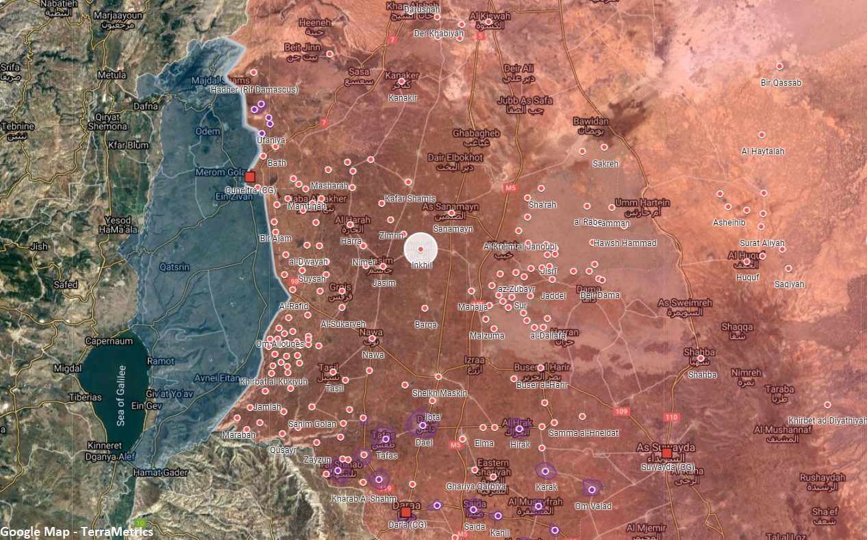 Unfortunate Events Ghost Syrian Intelligence In Daraa