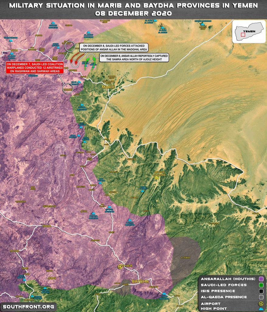 Houthis Make Fresh Gains In Battle With Saudi Proxies In Yemen's Marib (Map Update)
