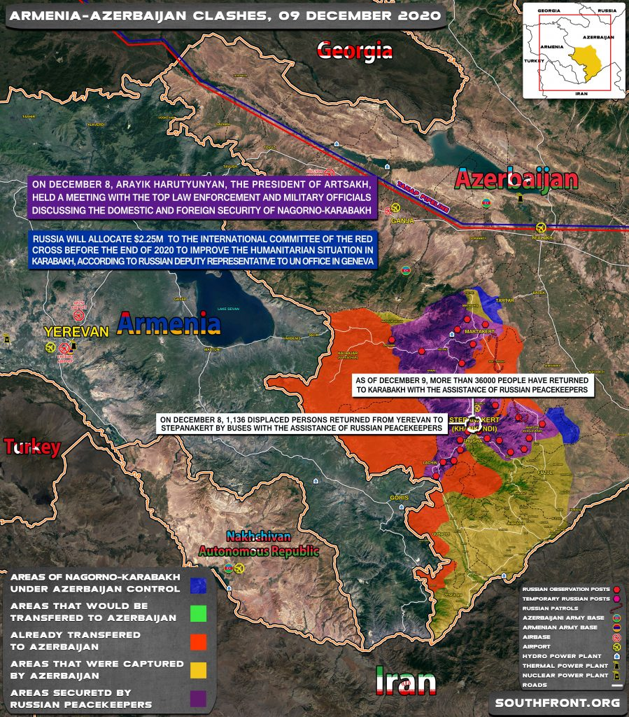 Two Azerbaijani Troops Were Killed And Another One Was Injured In Mine Explosion In Karabakh (Map, Video)