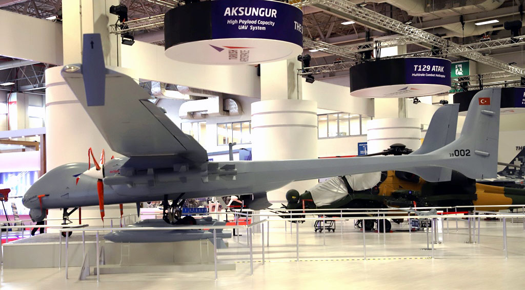 Turkish Aksungur Unmanned Combat Aerial Vehicle Entered Serial Production (Infographics)