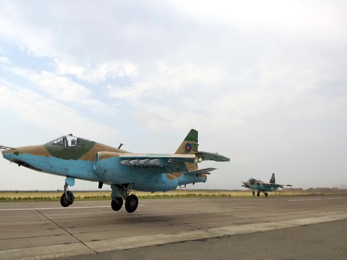 Azerbaijan Carried Out 600 Flights In Nagorno-Karabakh War, Lost One Single SU-25 Fighter Aircraft