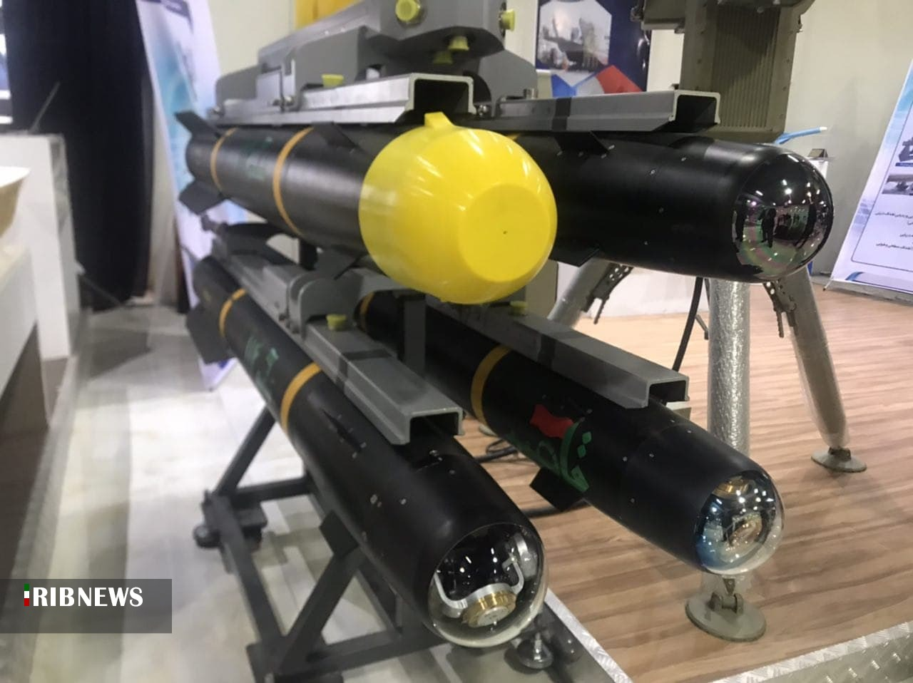 Iran Showcases Almost Exact Copy Of US-Made AGM-41 Hellfire Missile