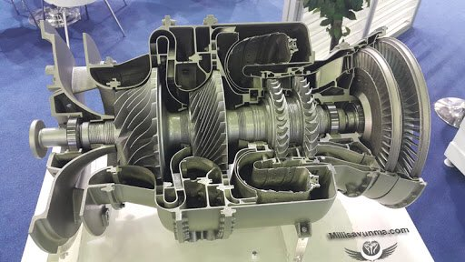 Turkey's TS1400 Helicopter Engine Experiences Critical Failure At Its Presentation (Video)