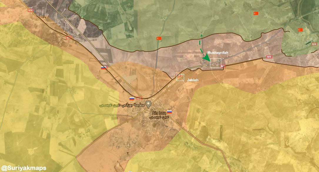 After Months Of Speculations, Turkish Forces Launch Attack On Kurdish Forces In Syria's Ain Issa (Videos, Map)