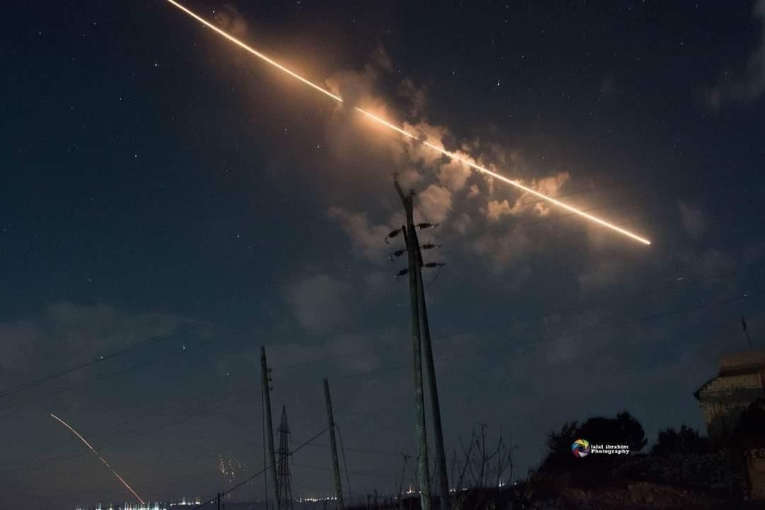 Syrian Air Defense Intercepts Israeli Missile Barrage Over Hama District