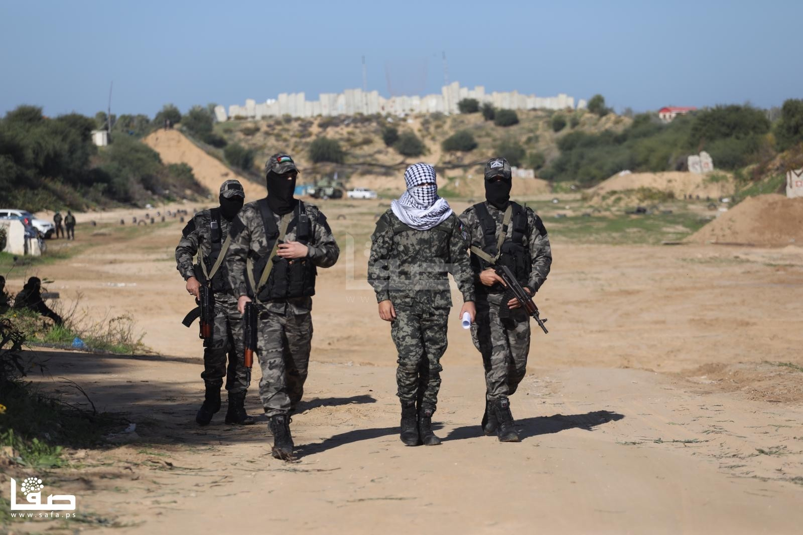 Palestinian Groups Carry Out Military Drill, Set Up Joint Operations Room Against Israel