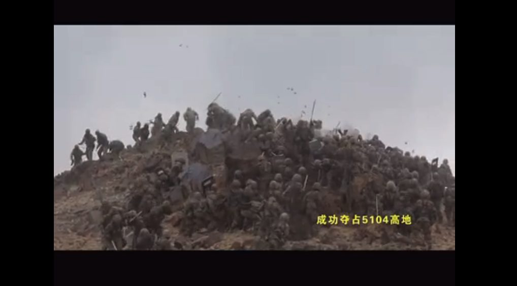 Footage Of Epic Clash Between Chinese And Indian Troops In Ladakh Border Region