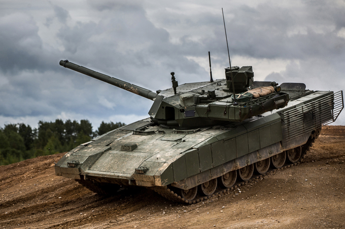 Make Way For The Armata: Russia's Third-Gen T-14 Main Battle Tank Enters Serial Production
