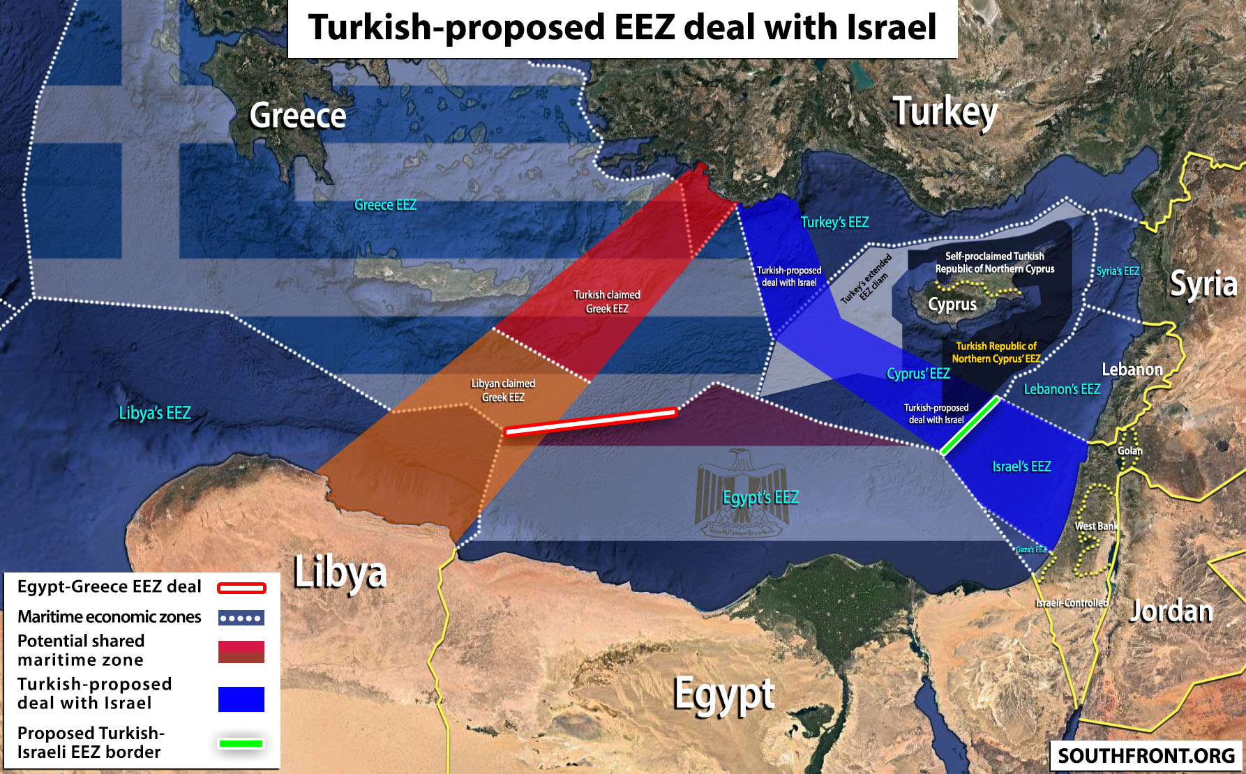 "Israel's Best Friend: Turkey Proposes Tel Aviv ""Mutually-Beneficial"" Maritime Deal"