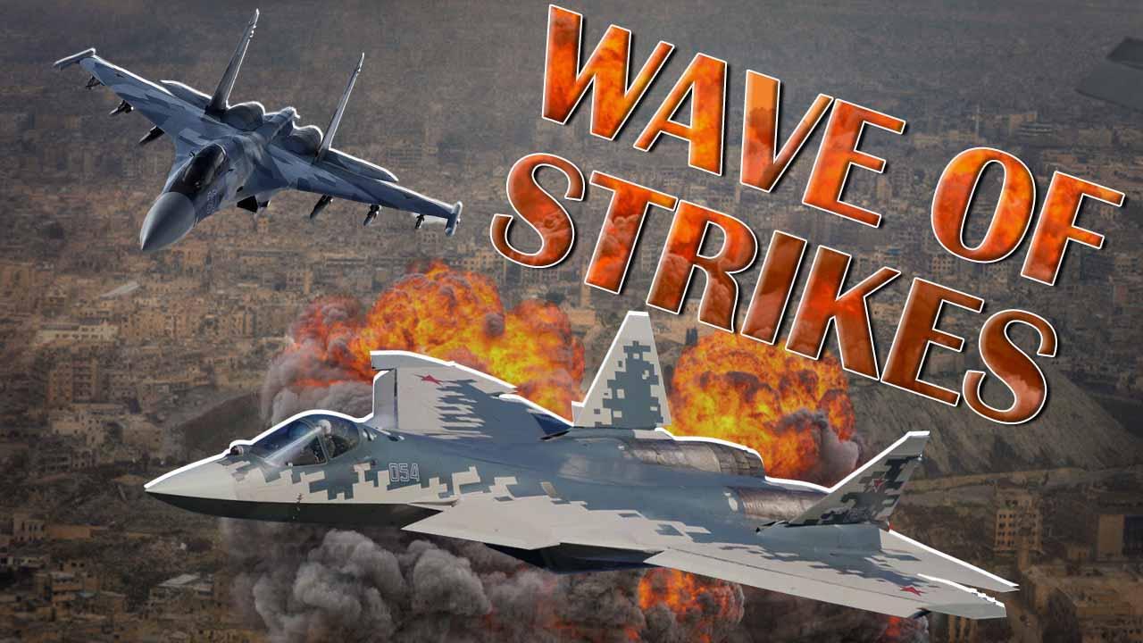 Russian Warplanes Pounding Turkish Proxies In Greater Idlib