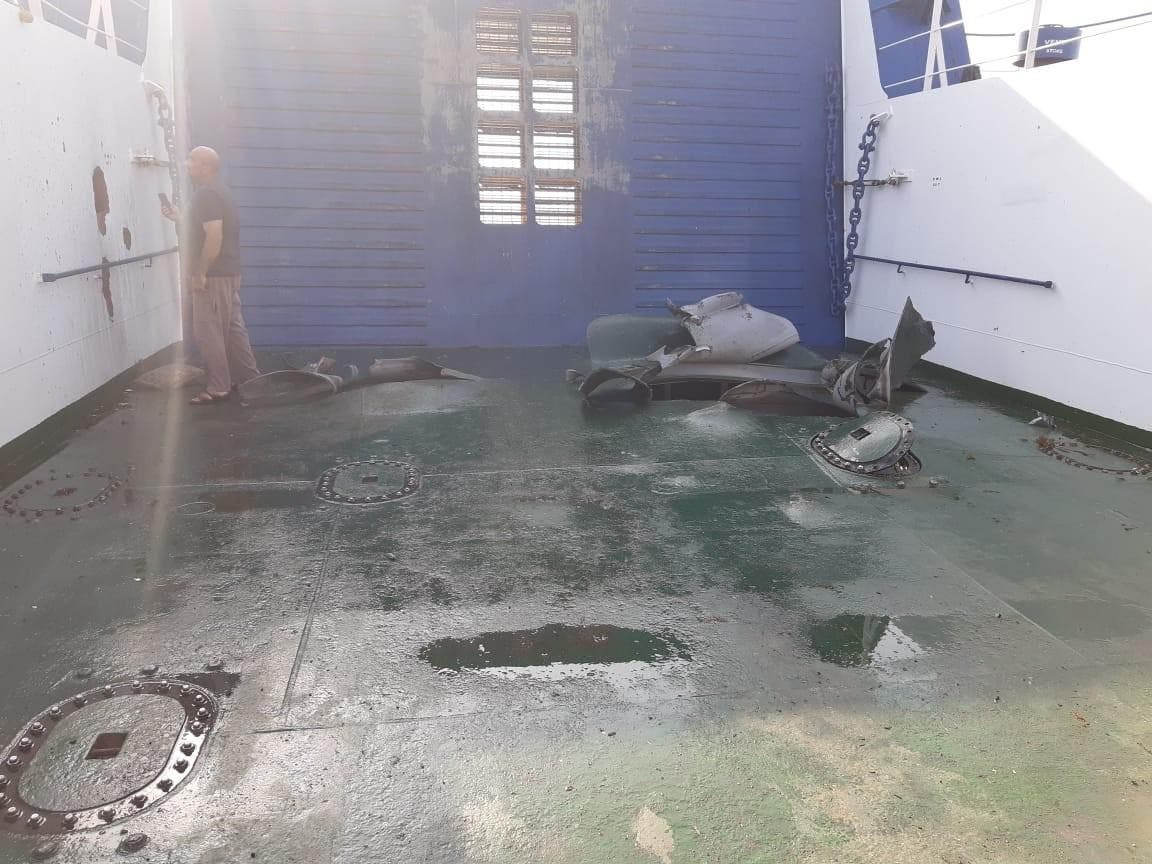 Houthi Naval Mine Struck Commercial Vessel In Red Sea: Saudi-led Coalition (Photos)