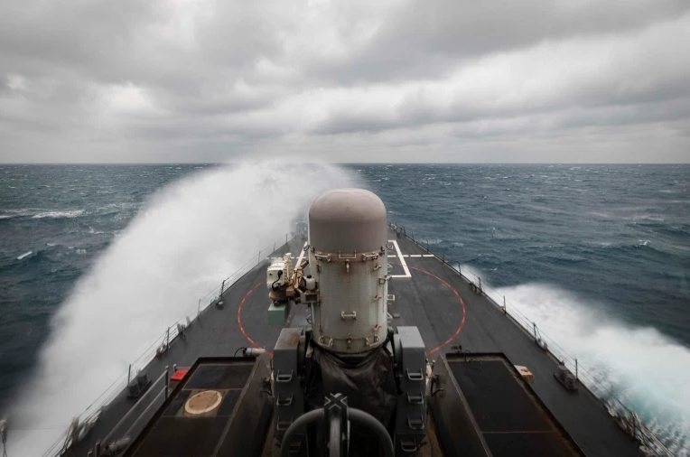 U.S. Carries Out 13th Warship Passage Through Taiwan Strait In 2020 To China's Discontent