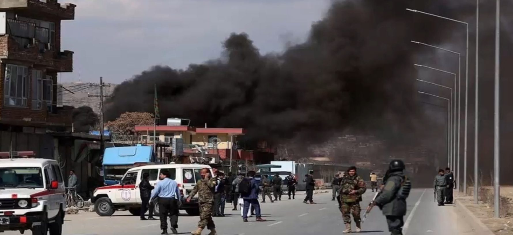 Russian Diplomatic Vehicle Hit By IED In Afghanistan's Kabul