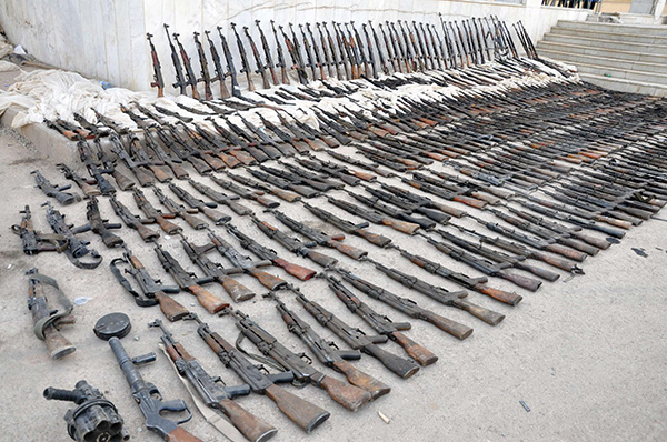 Conflict Armament Research Releases Report Showing Its Exquisitely Easy To Purchase Weapons, Even For Terrorists