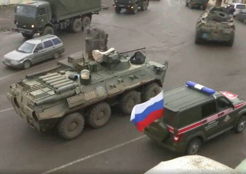Armenian President Calls For Government Resignation, As Azerbaijan Move Into Lachin Under Russian Supervision