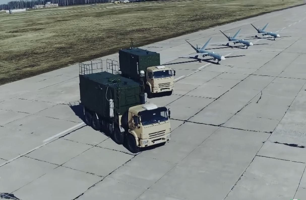Footage Of First Orion-1 Attack-Reconnaissance UAV Delivered To Russia's Armed Forces